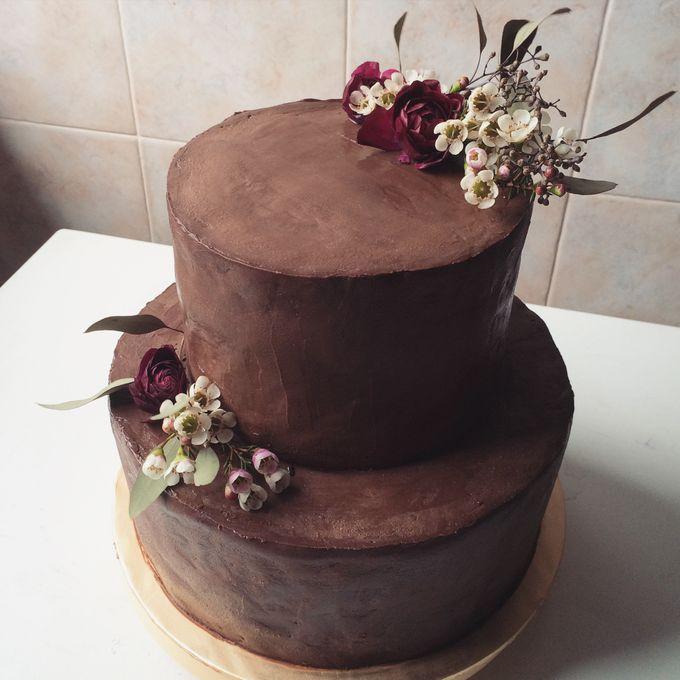 Floral Wedding Cake by Teaspoon of Love - 006