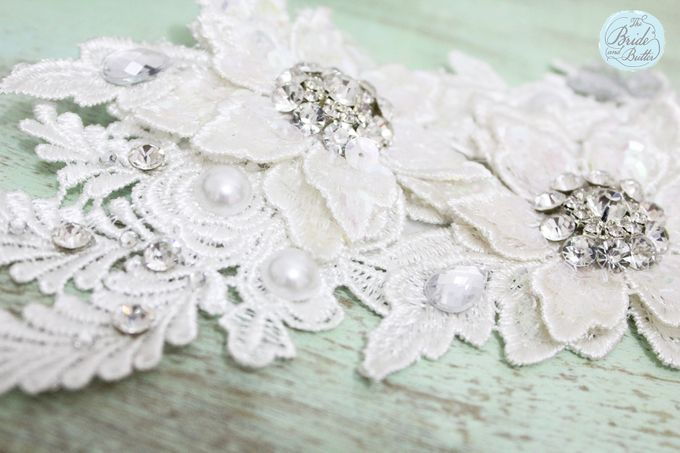 Custom Hairpiece by The Bride and Butter - 011