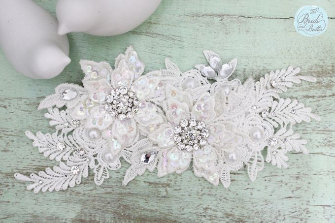 Custom Hairpiece by The Bride and Butter - 010