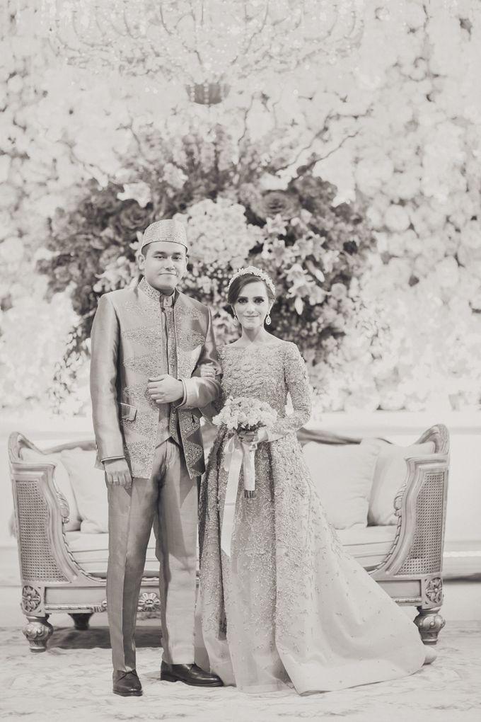 Saffana & Harish Wedding Reception by JAYSU Weddings by Jacky Suharto - 035