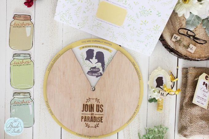 INVITATION - wheel of love by The Bride and Butter - 002