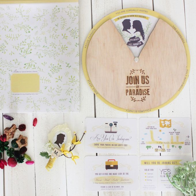 INVITATION - wheel of love by The Bride and Butter - 003
