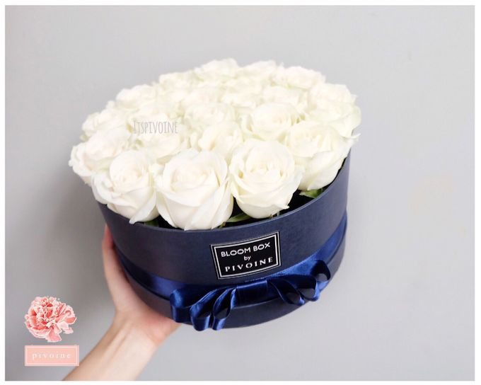 ring box by Pivoine Flower Shop - 001