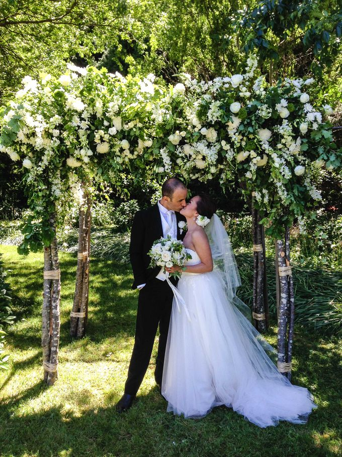 Ceremony and Reception by Affair with George  Florals & Event Styling - 033
