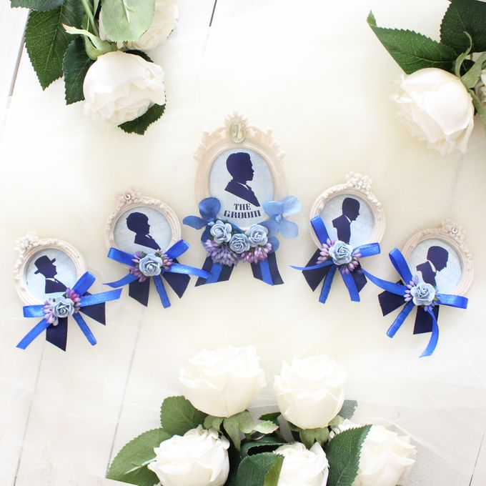 Custom Boutonniere / Corsage by The Bride and Butter - 043