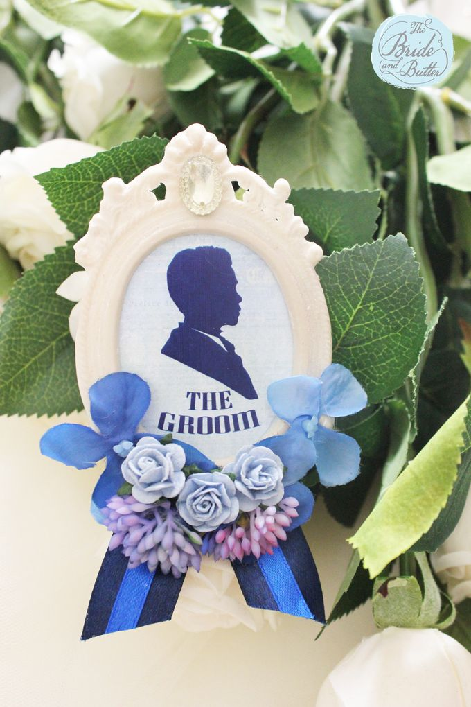 Custom Boutonniere / Corsage by The Bride and Butter - 044