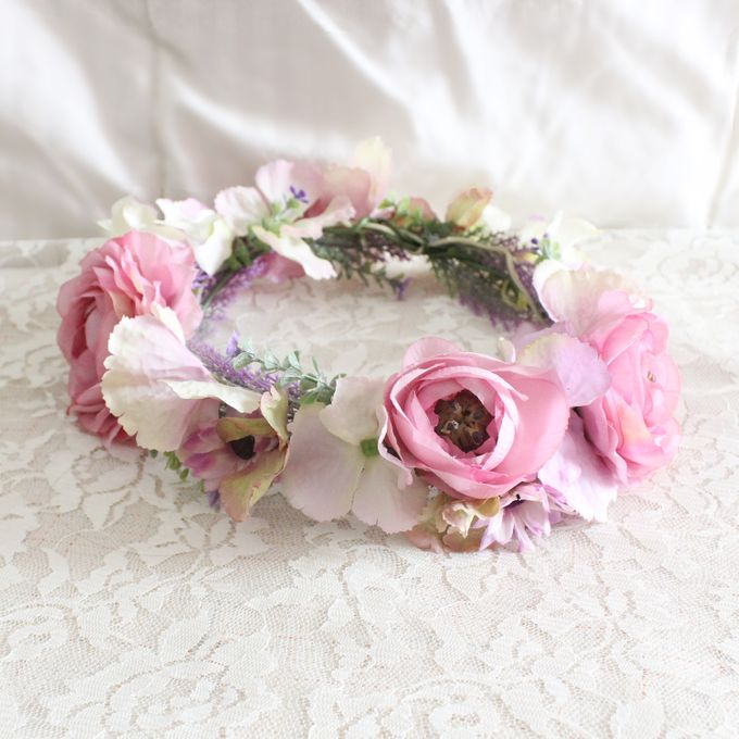CUSTOM FLOWER CROWN by The Bride and Butter - 012