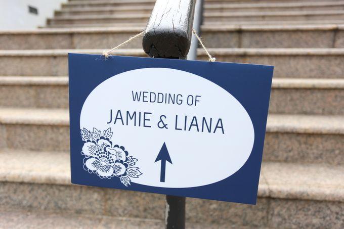 Wedding of Jamie & Liana by Rosette Designs & Co - 019