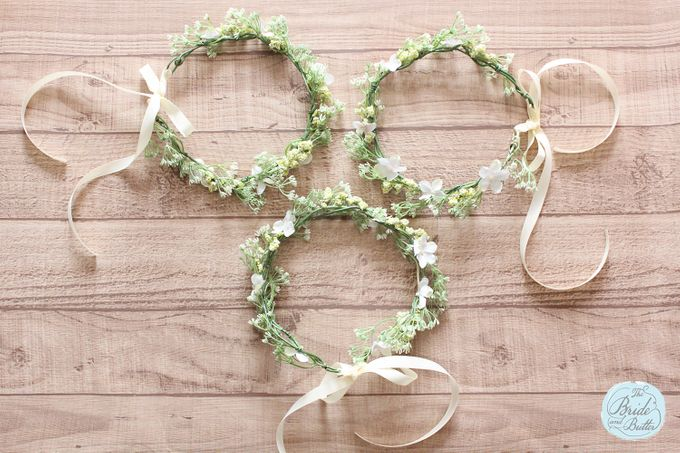 CUSTOM FLOWER CROWN by The Bride and Butter - 014