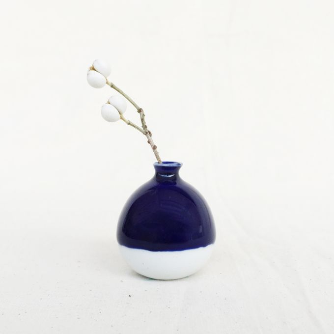 Handmade Mini Vase- Classic Color Collection by Oh!eaf - 002