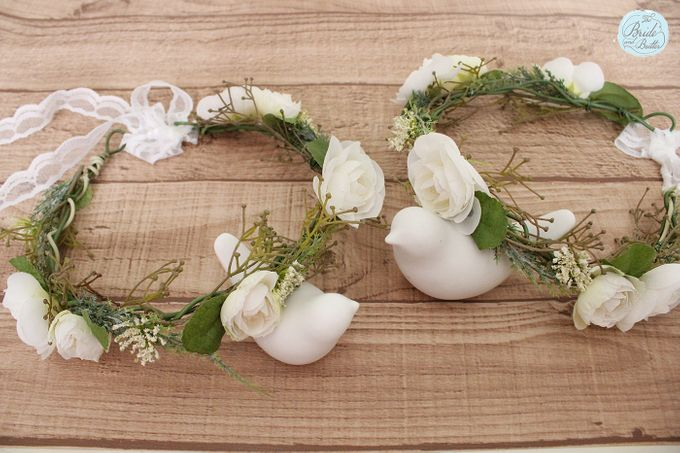 CUSTOM FLOWER CROWN by The Bride and Butter - 016