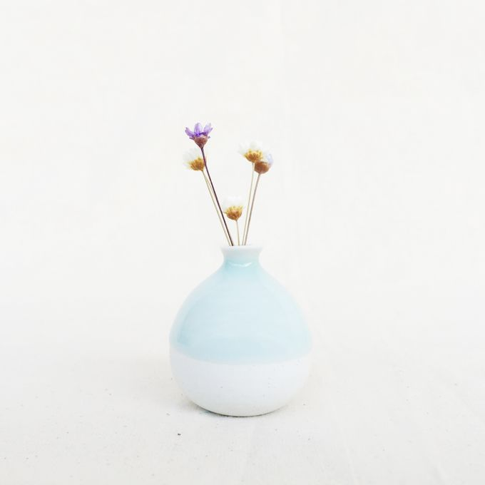 Handmade Mini Vase- Classic Color Collection by Oh!eaf - 003
