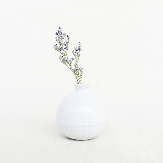Handmade Mini Vase- Classic Color Collection by Oh!eaf - 004