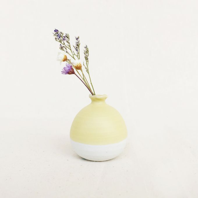 Handmade Mini Vase Pastel Collection by Oh!eaf - 002
