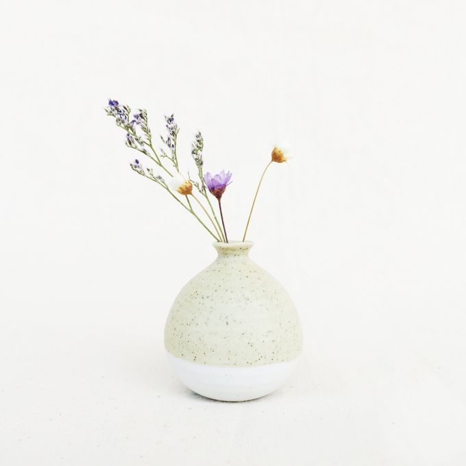 Handmade Mini Vase Pastel Collection by Oh!eaf - 003