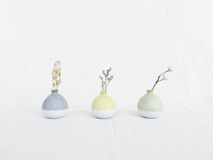 Handmade Mini Vase Pastel Collection by Oh!eaf - 004
