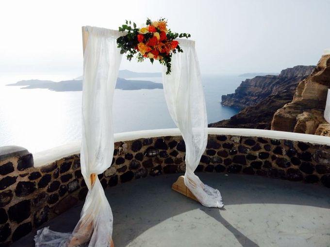 Cloudy wedding in Caldera by Santo weddings by mk - 011