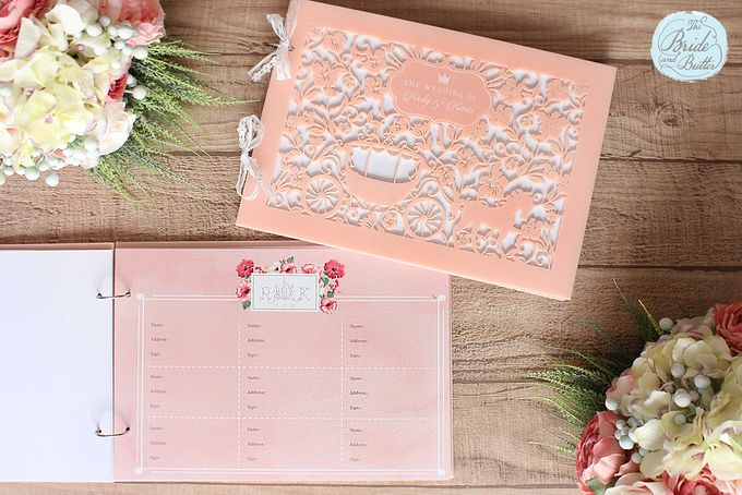 WEDDING GUESTBOOK by The Bride and Butter - 005