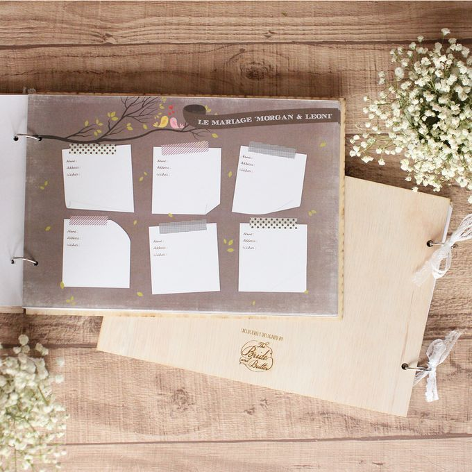 WEDDING GUESTBOOK by The Bride and Butter - 008
