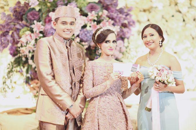 Saffana & Harish Wedding Reception by JAYSU Weddings by Jacky Suharto - 021