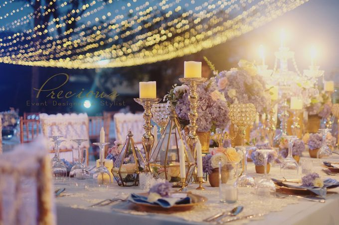 The Wedding of Gwen & Vernon by Precious Event Design - 006