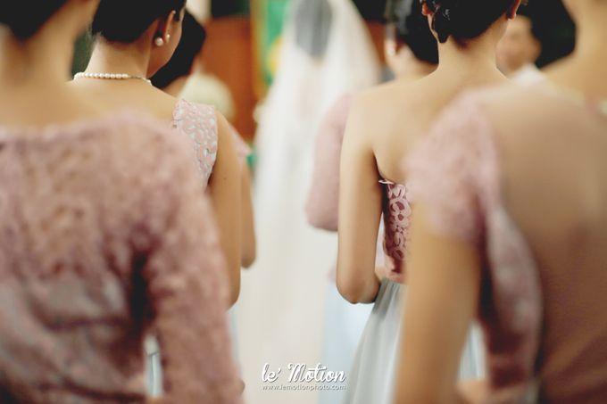 Tisya & Ferry - International Wedding by Imelda Hudiyono Bride - 016