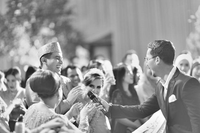 Saffana & Harish Wedding Reception by JAYSU Weddings by Jacky Suharto - 032