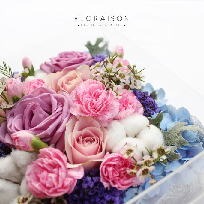 """See me Thru"" Bloom box by Floraison - 015"