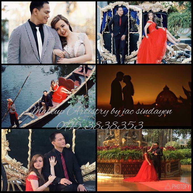 Rika & Jaylord Wedding by Make Up Artistry by Jac Sindayen - 001