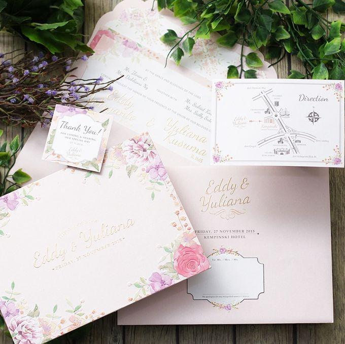 Eddy And Yuliana Wedding Invitation By Ink Design Printing
