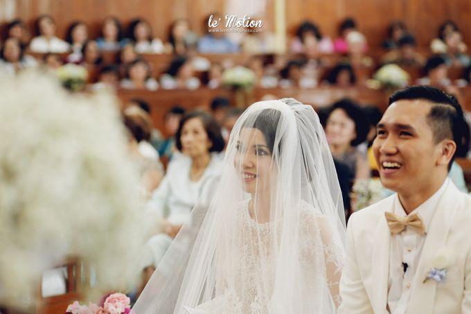 Tisya & Ferry - International Wedding by Imelda Hudiyono Bride - 021