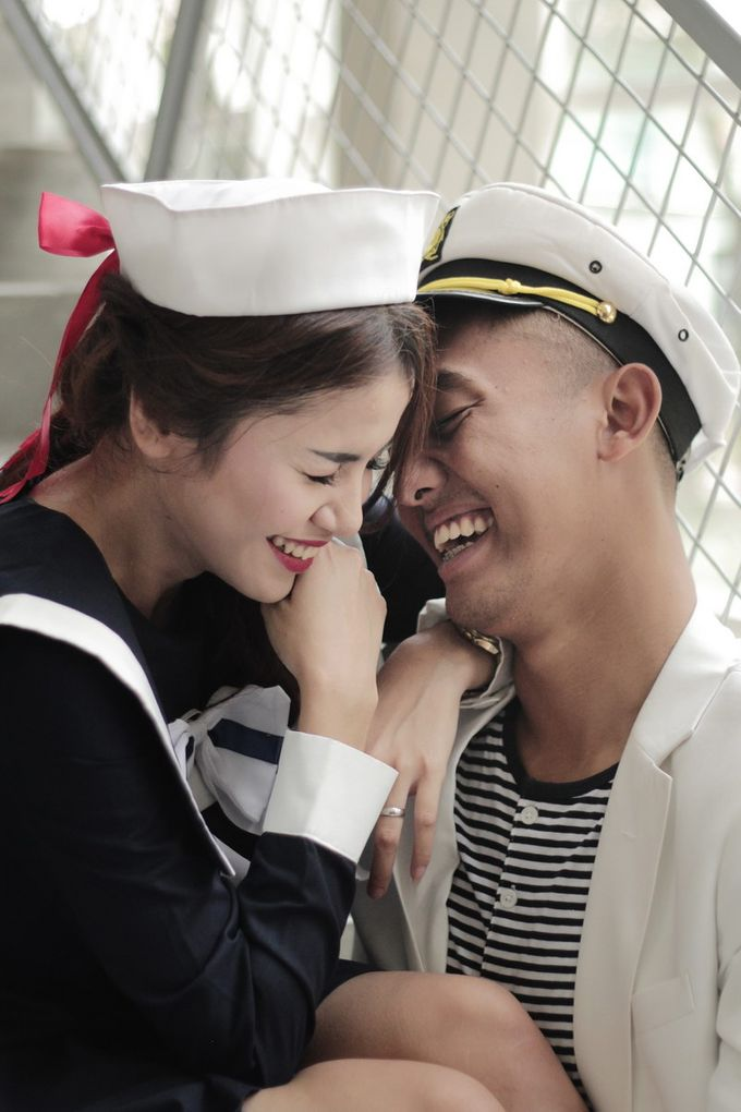 #TIKAUUSBERLABUH Nautical Wedding by Malaka Hotel Bandung - 039