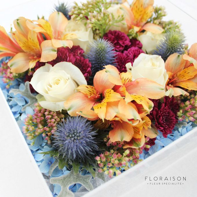 """See me Thru"" Bloom box by Floraison - 023"