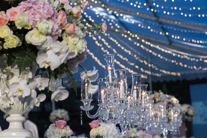 WONDERFUL WHITE WEDDING THEME by Red Gardenia - 001