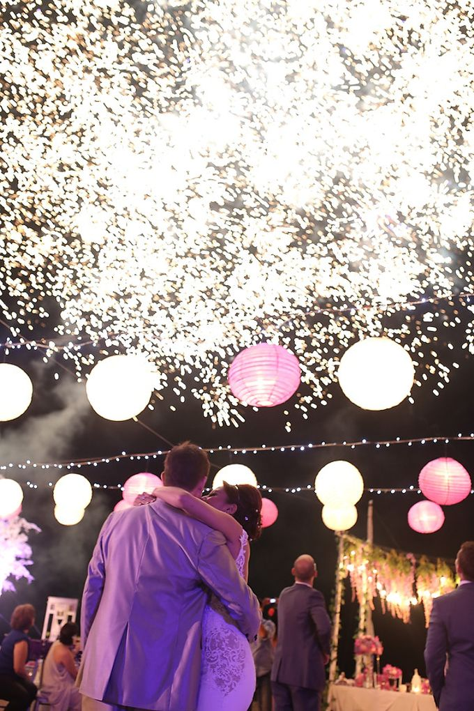 Fireworks by Bali Wedding Entertainment - 007