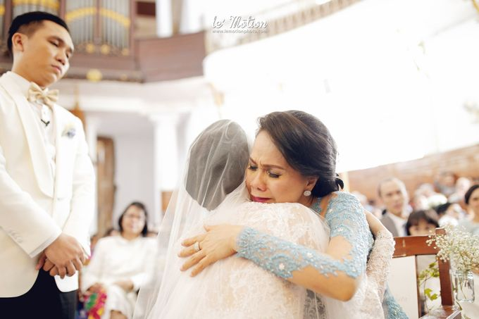 Tisya & Ferry - International Wedding by Imelda Hudiyono Bride - 024