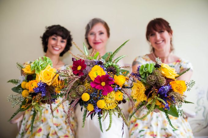 Bouquets & Boutonnieres by Mobtown Florals - 005