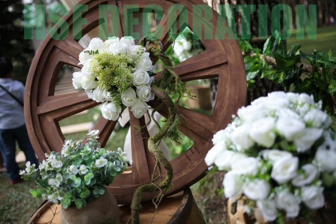 Rustic Theme Decoration by Home Smile Florist - 002