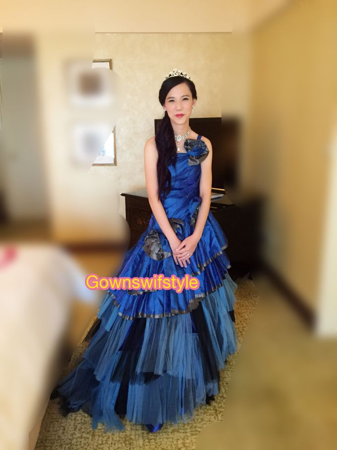 Bride Wenling Actual Day by Makeupwifstyle - 006