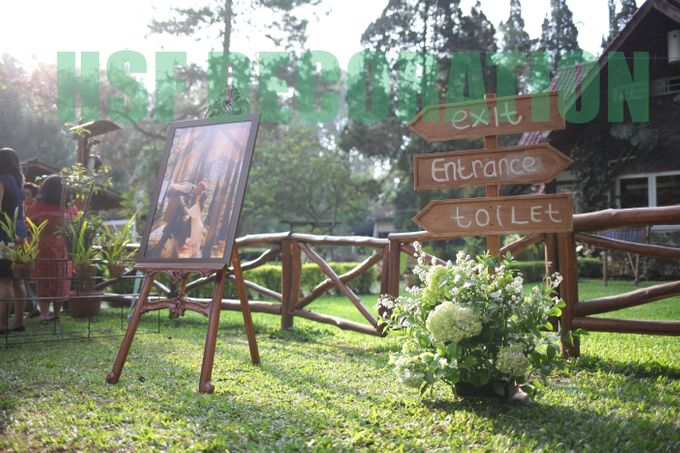 Rustic Theme Decoration by Home Smile Florist - 007