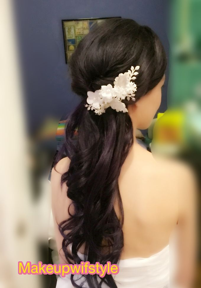 Bride Wenling Actual Day by Makeupwifstyle - 002