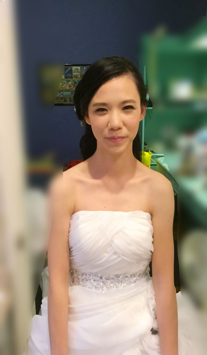 Bride Wenling Actual Day by Makeupwifstyle - 003