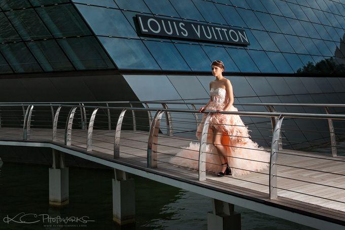 Paris Anna Pre-Wedding Shoot by Stephy Ng Makeup and Hair - 001