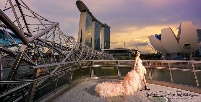 Paris Anna Pre-Wedding Shoot by Stephy Ng Makeup and Hair - 002