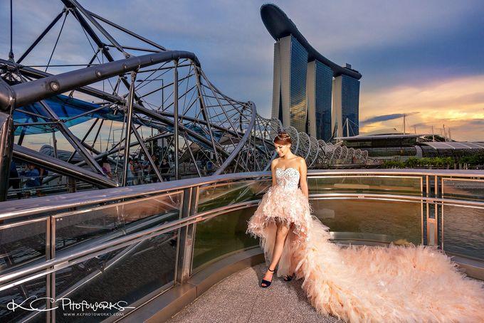 Paris Anna Pre-Wedding Shoot by Stephy Ng Makeup and Hair - 003