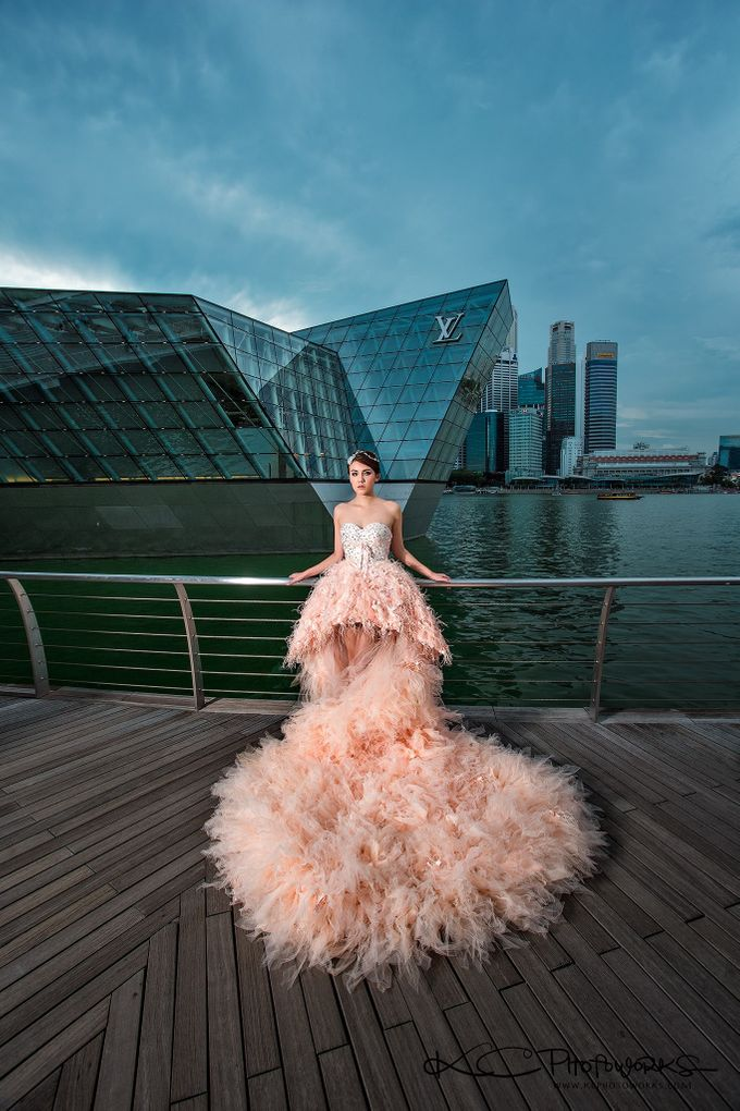 Paris Anna Pre-Wedding Shoot by Stephy Ng Makeup and Hair - 004