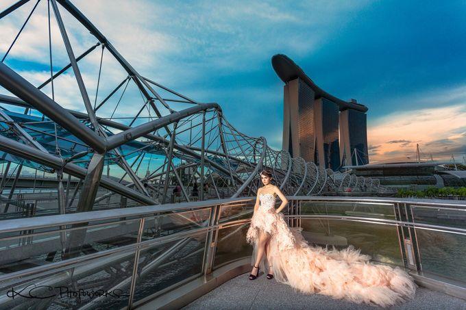 Paris Anna Pre-Wedding Shoot by Stephy Ng Makeup and Hair - 005