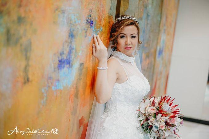 Rika & Jaylord Wedding by Make Up Artistry by Jac Sindayen - 002