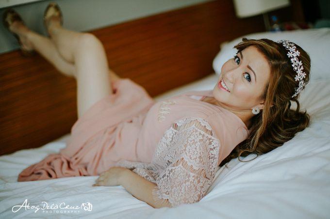 Rika & Jaylord Wedding by Make Up Artistry by Jac Sindayen - 003