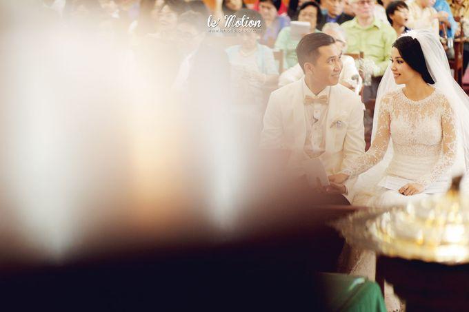 Tisya & Ferry - International Wedding by Imelda Hudiyono Bride - 022